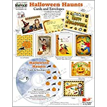 ScrapSMART - Halloween Haunts Cards & Envelopes - Software Collection - Jpeg, MS Word, and PDF files (CARDHW155)