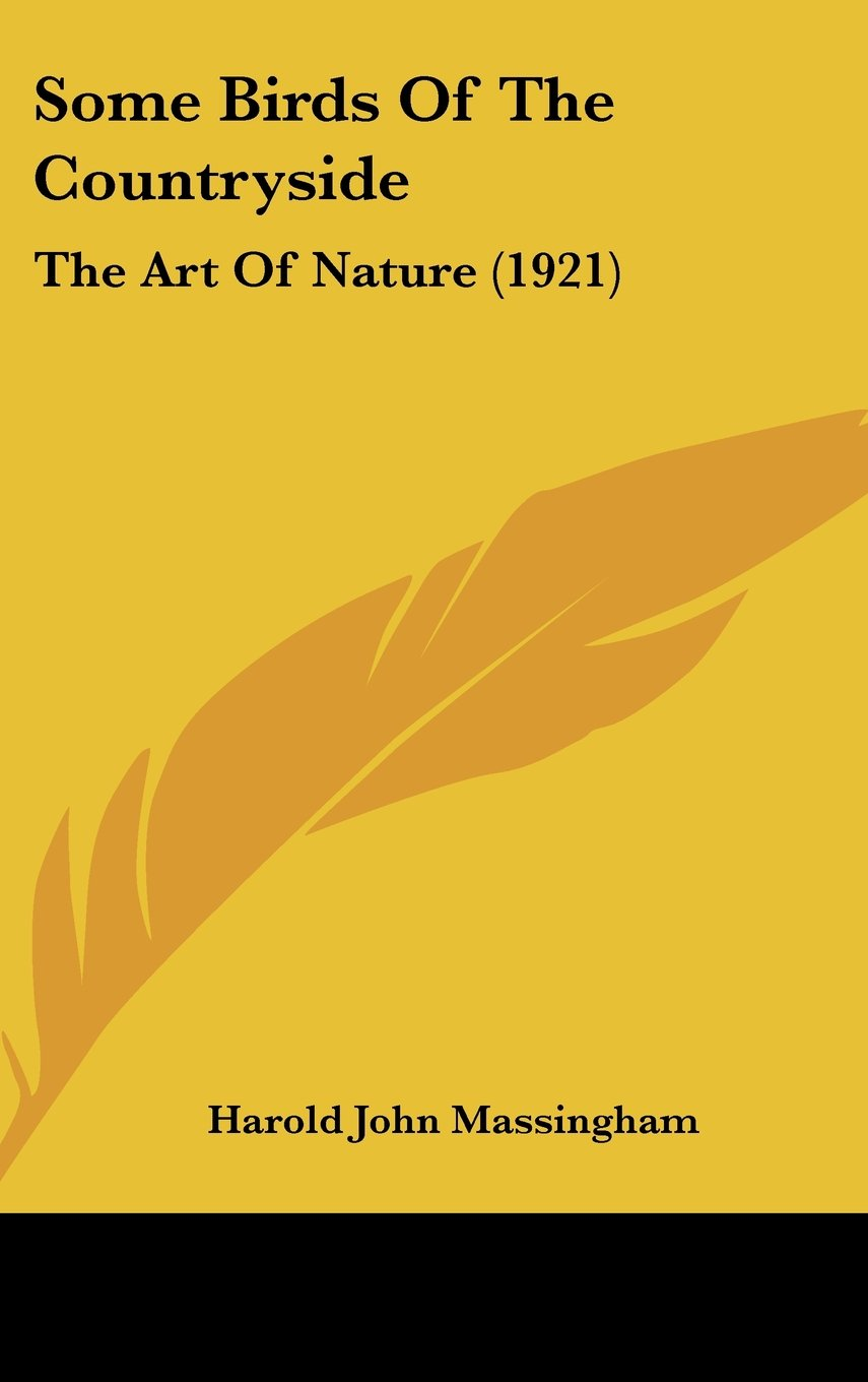 Download Some Birds Of The Countryside: The Art Of Nature (1921) pdf