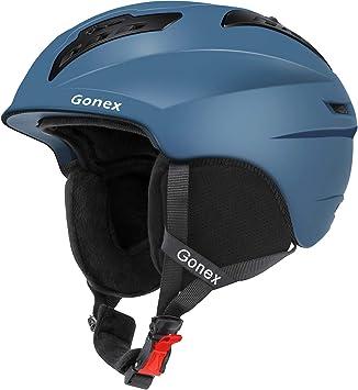 Amazon.com: Gonex - Casco de esquí, snowboard y snowboard ...