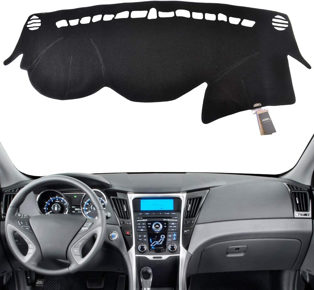 XUKEY Dashboard Cover for Hyundai Sonata 2011 2012 2013 2014 Dash Cover Mat
