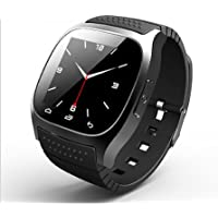 M26Bluetooth R-Watch SMS anti Lost Smart Sport Watch para Android, Negro