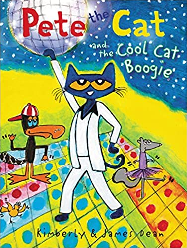 c58f5986fb3f86 Pete the Cat and the Cool Cat Boogie  James Dean