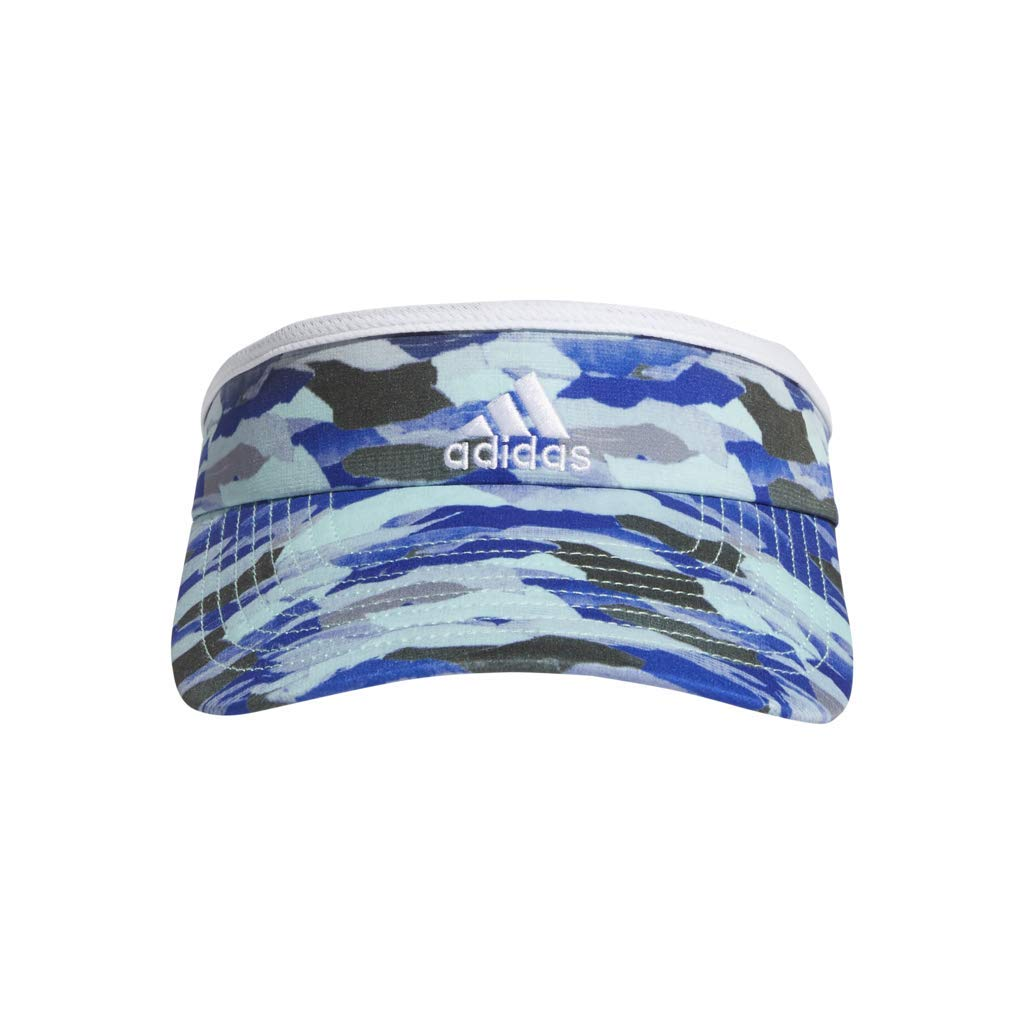 adidas Women's Match Visor, Running Camo Clear Mint/White, ONE SIZE by adidas