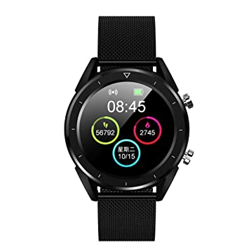 G-Bracele Montre Connectée Hybride Cardiofréquencemètre Cardio Homme Femme Enfant Smart Watch Android iOS Smartwatch