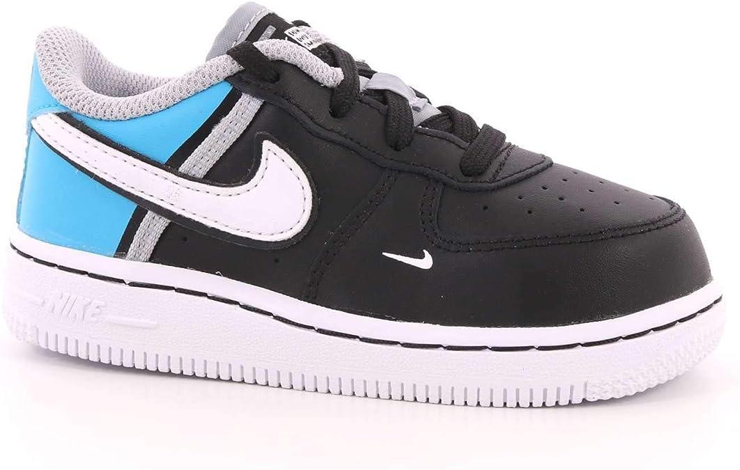 Nike Force 1 LV8 2 TD Zapatillas deportivas negras para niño CI1758-001: Amazon.es: Zapatos y complementos