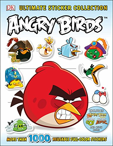 Ultimate Sticker Collection: Angry Birds (Ultimate Sticker Collections) Bird Collection