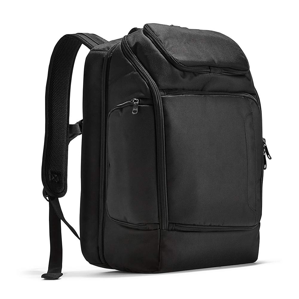 eBags Professional Flight Laptop Backpack – Best Computer Bag for Travel – Fits up to 15.6 Inch Laptop – Black