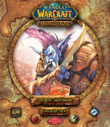 World of Warcraft: The Adventure Game - Character Pack: Dongon Swiftblade