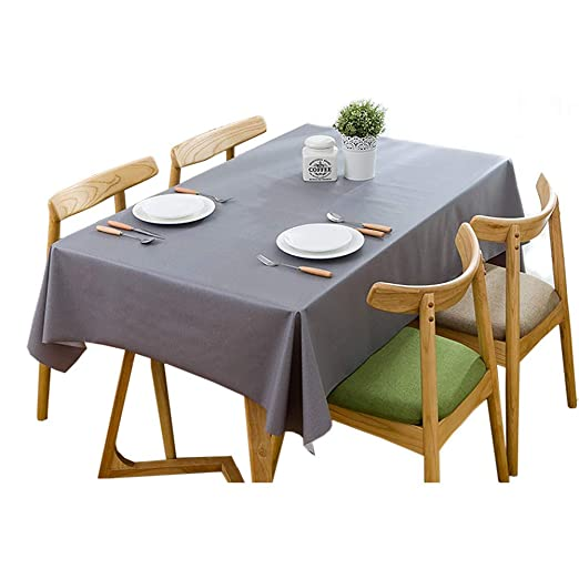 GEOLBU manteles de plástico para mesas rectangulares, mantel ...
