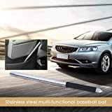 IMSHI Stainless Steel Multi-Functional Baseball Bat , Car Emergency Stick