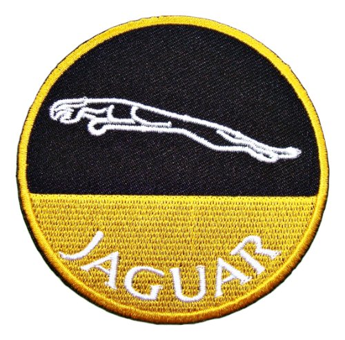 Jaguar Clothing Accessories: JAGUAR Cars Accessories Clothing CJ05 Iron On Patches