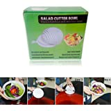 Sale Salad Cutter Strainer Bowl Practical Fast and Easy To Slice Tomato Fruit Cucumber Vegetable