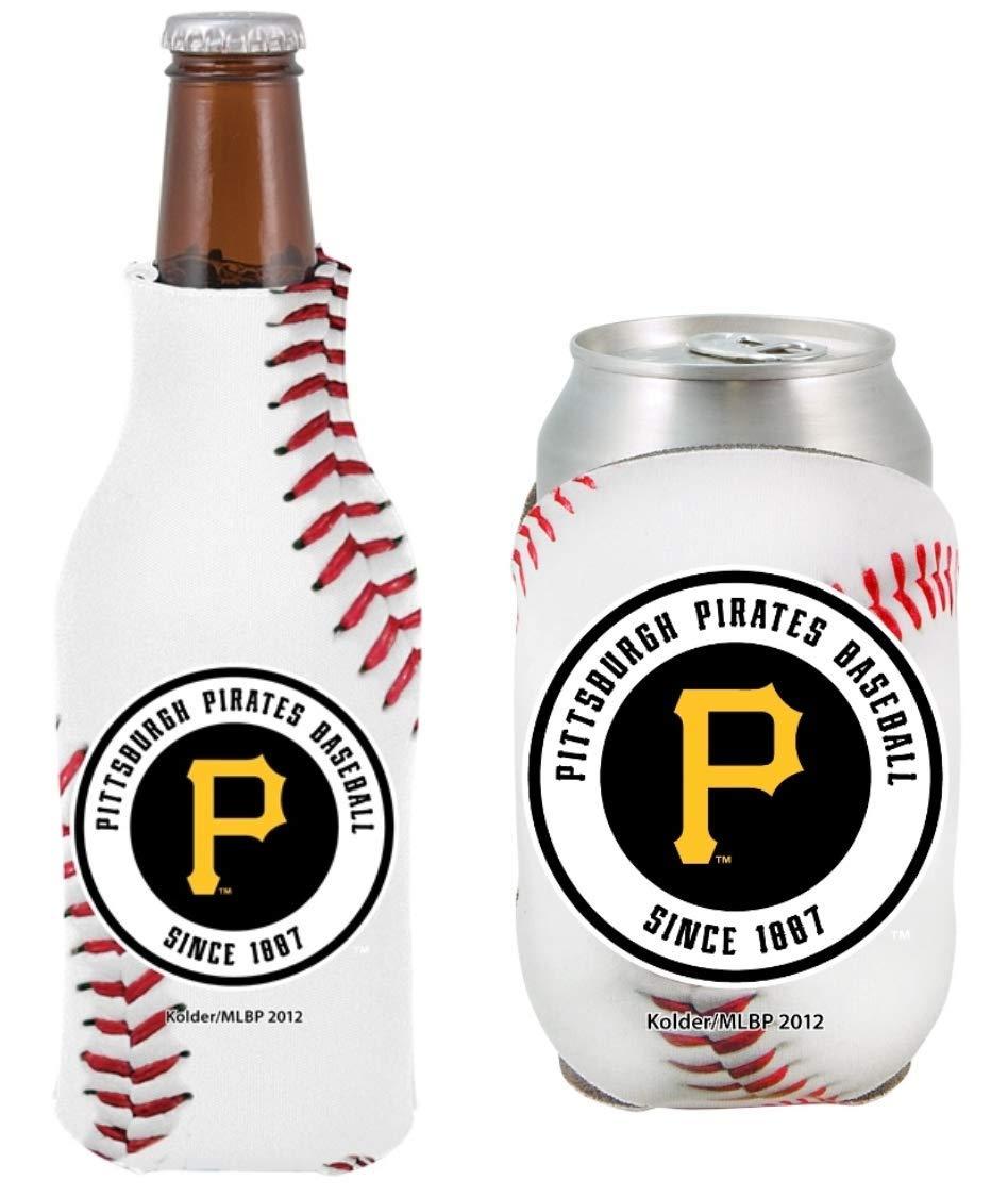 MLB 野球チームロゴボトル&缶クーリーセット 12オンス ネオプレン ドリンクホルダー スリーブクーラー