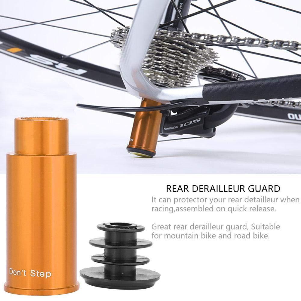 Furnoor Alliage daluminium Cyclisme Montagne Route V/élo V/élo Arri/ère D/érailleur Shift Protector 60mm Durable