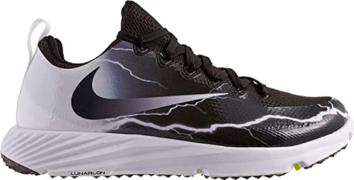 NIKE Vapor Speed Turf Black Grey Football Training Shoes Sneakers NEW Mens 8 9