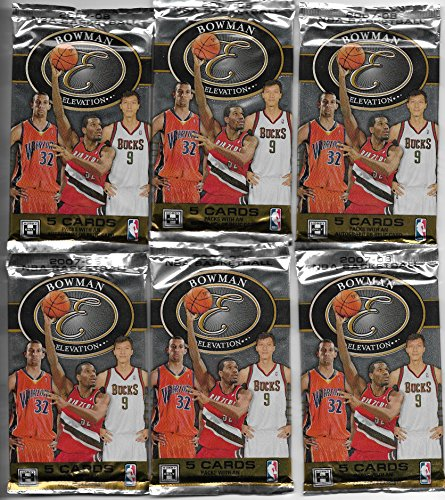 Elevation Pack (2007-08 Bowman Elevation Basketball Sealed Hobby Pack Of 5 Cards Durant RC)
