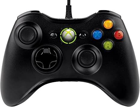 Amazon Com Microsoft Xbox 360 Wired Controller For Windows Xbox 360 Console Electronics