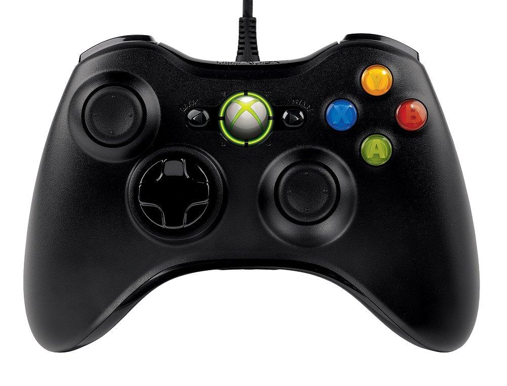 Amazon.com: Microsoft Xbox 360 Wired Controller for Windows & Xbox ...