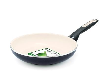 GreenPan Sofia Ceramic Non-Stick Frypan, 20cm, Black: Amazon.es: Hogar