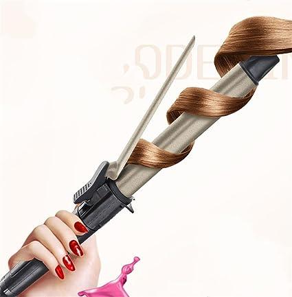 HAPPYMOOD Rizador de pelo Vacilar 28 mm Varita para el cabello que se encrespa Cómodo Cuidado