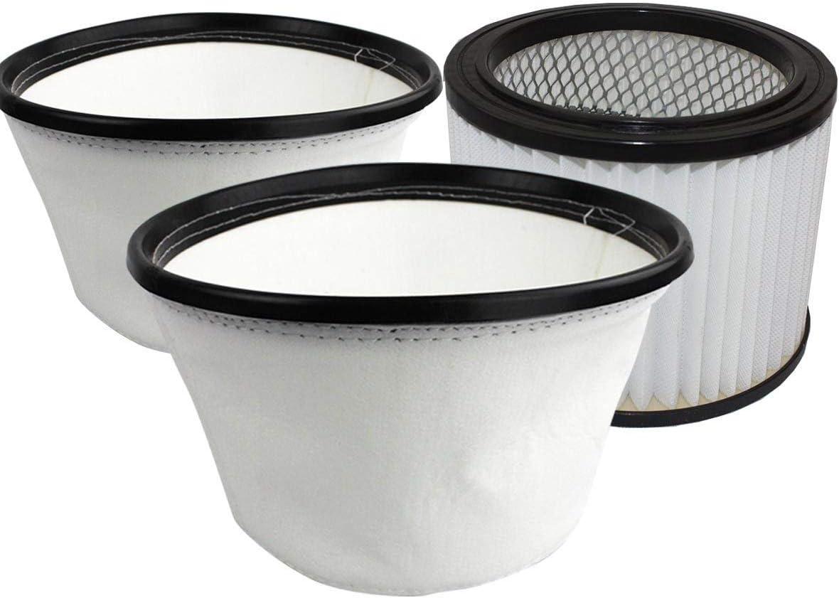 Kit de filtros de para BACOENG Aspiradora de Cenizas 20L: Amazon ...