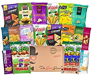 Gluten Free and Vegan Healthy Snacks Care Package (28 Count)