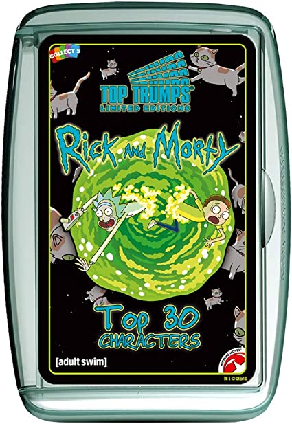 Top Trumps 31943 Specials Rick and Morty Card Game, Multi-Colour: Amazon.co.uk: Toys & Games