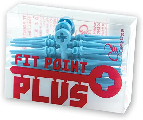 Pack of 50 Fit Point Short Blue Softips Cosmo Soft Tips