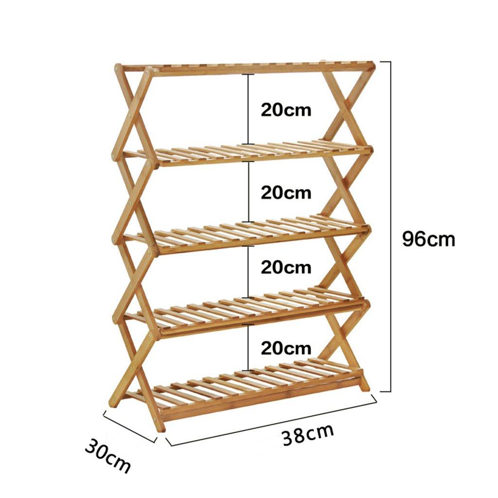 AIDELAI Simple shoe rack Multi - layer dust storage rack Home shoe cabinet Economic shoe rack Solid wood dormitory shoe rack Patio Garden Pergolas