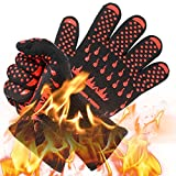 Cooking Gloves,Grill Gloves Heat Resistant Oven Gloves by Aignis
