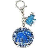 Feng Shui - Amuleto antirobos con Rinoceronte Azul