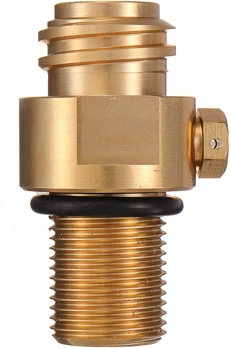 CO2 To Soda Stream Adapter And Thread For Filling Soda Stream Tank Tool Parts UK