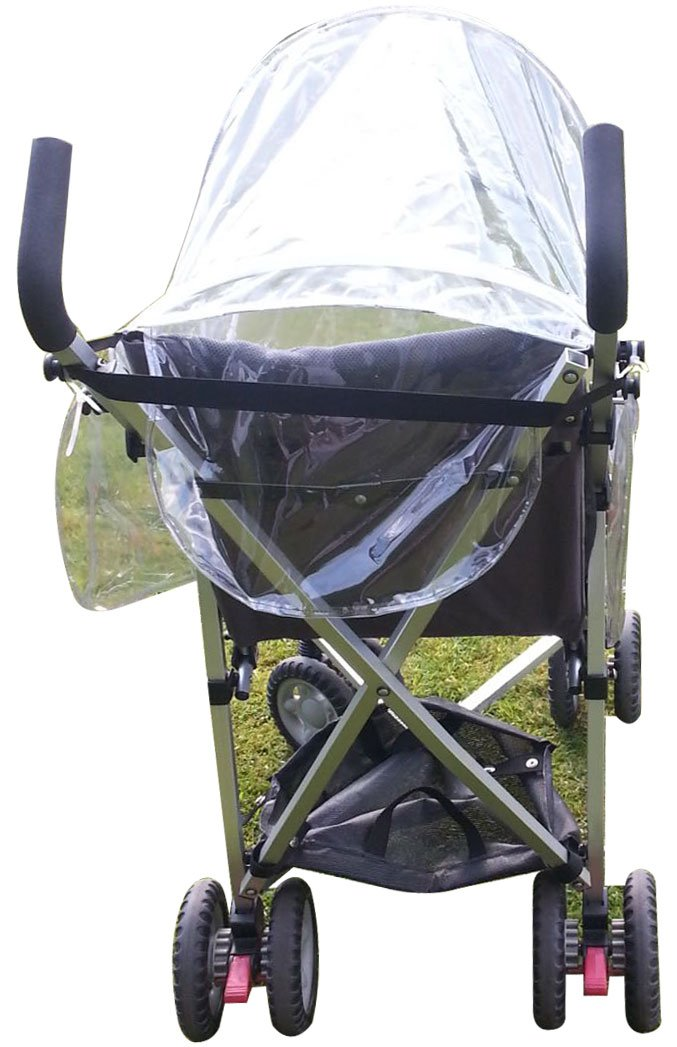 Square Clips Can Work with EXCEL Elise Travel Buggy Universal 1stopbabystore Special Needs Maclaren Major Elite Framed Rain Cover Puschair Buggy Stroller
