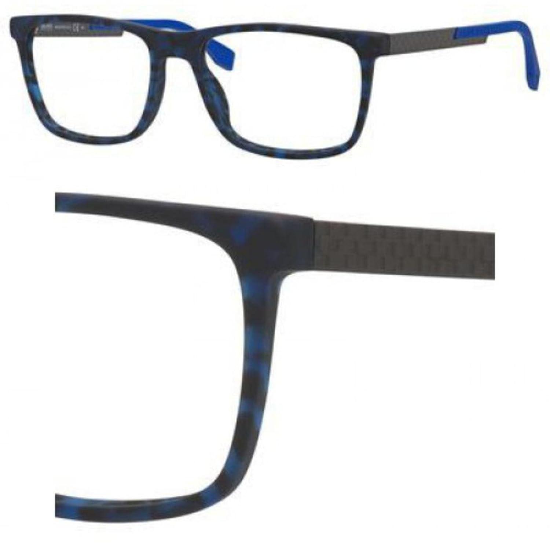 dd8eb68c9e Hugo Boss 0733 Eyeglasses 0KD6 Blush Havana Carbon 56-18-145  Amazon.co.uk   Shoes   Bags