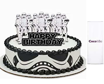 Prime Coco And Bonbspstar Wars Stormtrooper Bdquohappy Personalised Birthday Cards Paralily Jamesorg