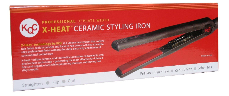KQC X-Heat Hair Straightener Tourmaline Ceramic Professional Flat Iron