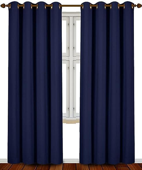 Navy Blue And Beige Curtains Curtain Menzilperde Net