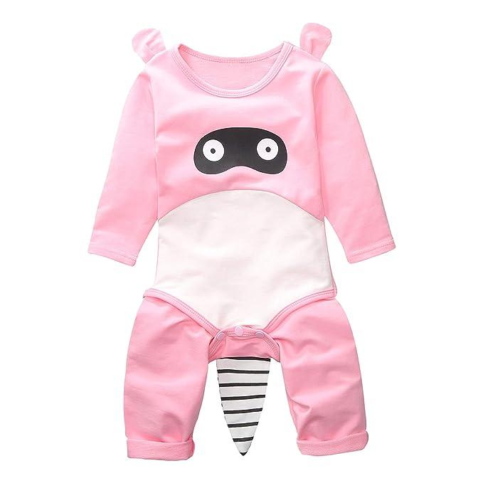 SODIAL Oto?o Bebé Recién Nacido Impresión de Dibujos Animados Mono ...