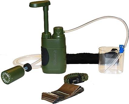 Life Defender Elite Pump Filter .01 4 Stage Filtration Protection for Parasite Protozoa and Select viruses
