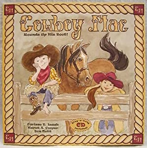 Paperback Cowboy Mac Rounds Up His Boot! Book