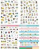 -8 Sheets Korea DIY Kawaii Diary PrettyZoo Animals Sticker Set - Deco Translucent Sticker Set