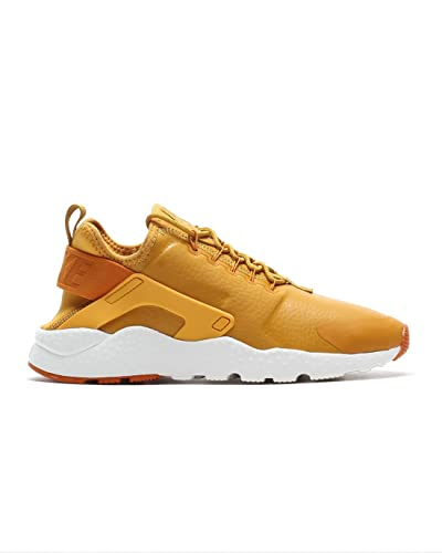 Nike Air Huarache Ultra Run Premium, Zapatillas Deportivas para Mujer, Dorado (Gold Leaf/Sunset/Sail), 36 EU