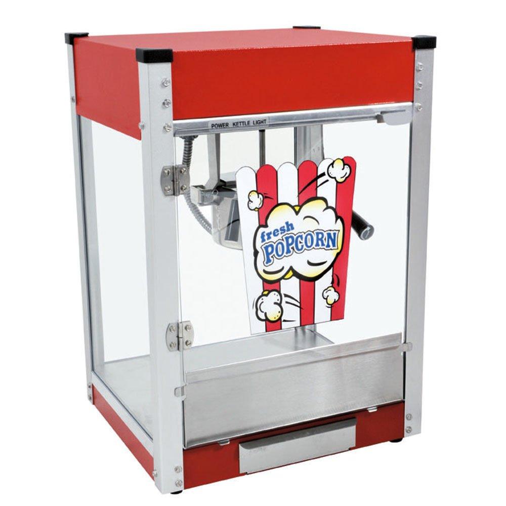 Cineplex-4 Popcorn Machine (Red, 4-Ounce)
