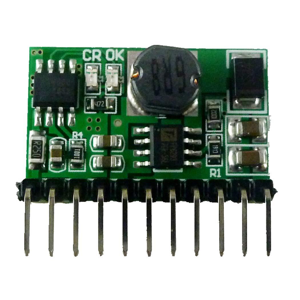 Output 9V with Pin Eletechsup 10W 3.7V 4.2V Charger /& DC 9V Discharger DC DC Converter Boost UPS Module , 1