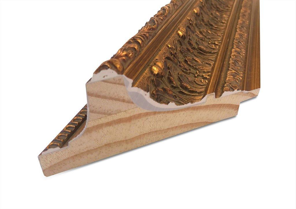 West Frames Elegance Ornate Embossed Wood Framed Wall