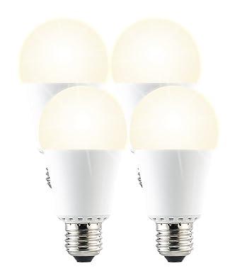 1000 Led Lm De Pack 4 E27 Avec Détecteur Ampoules D'obscurité lF1JcTK3