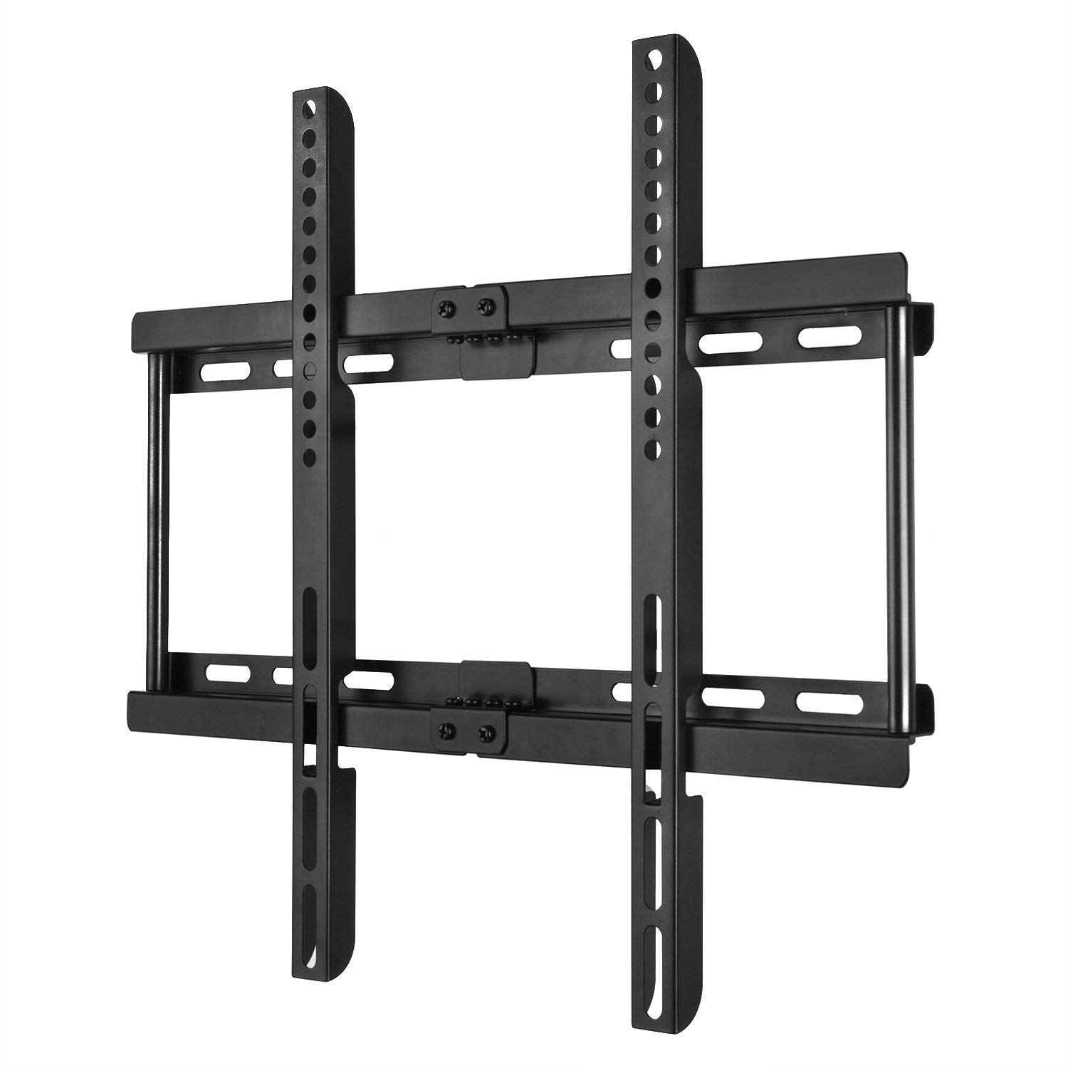 Happyjoy Ultra Slim TV Wall Mount Bracket for 23-55 Inch Flat LCD LED Plasma HDTV Smart TV, Max VESA 400x400mm, Bubble Level Included by Happyjoy