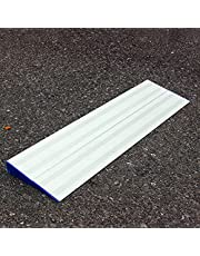 Metal Ramps For Wheelchairs, Portable Transition Threshold Ramps / 2 Pack Doorway Stairs Ramp Detachable, Non Slip Mobility Assistance Ramp