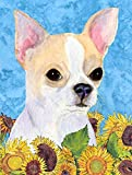Caroline's Treasures SS4243CHF Chihuahua Flag Canvas, Large, Multicolor Review