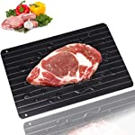 Fast Defrosting Tray for Natural Thawing Frozen Meat, Rapid Thawing Plate